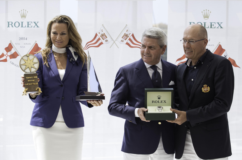 Giraglia Rolex Cup 2014 prizegiving