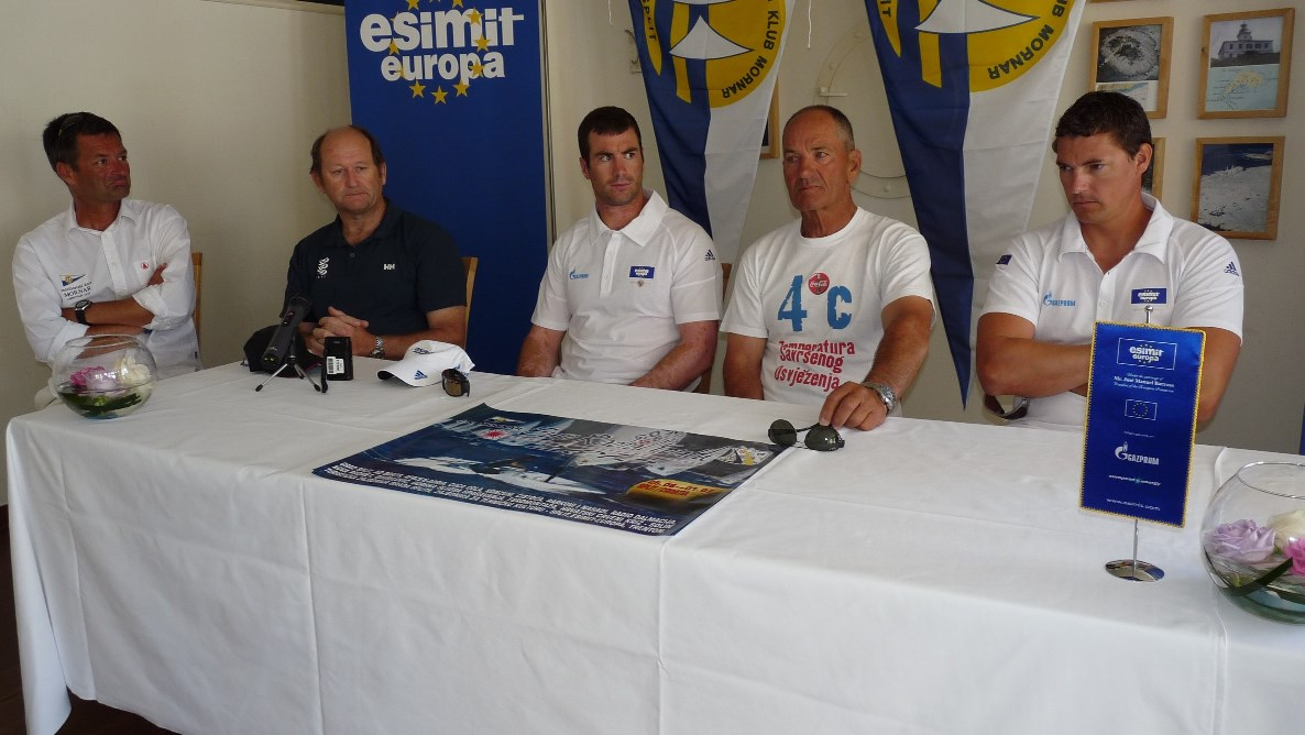Esimit Europa at ISAF Euro Radial Youth Championship
