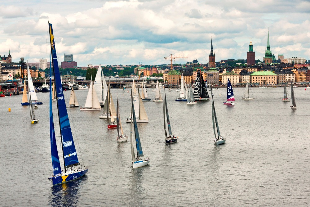 Start of the ÅF Offshore Race